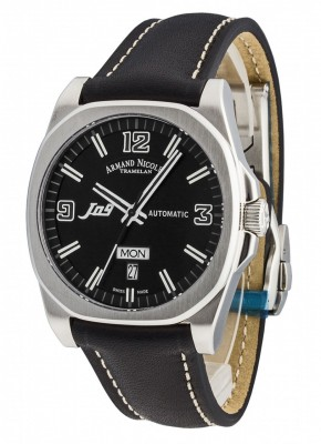 poza Armand Nicolet J09 Day-Date Automatic 9650ANRPK2420NR