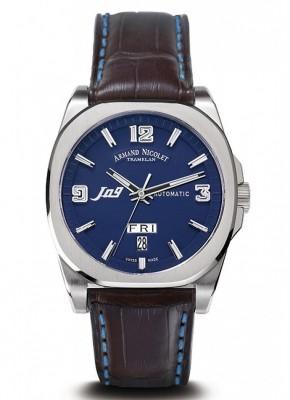poza ceas Armand Nicolet J09 Steel Blue 4