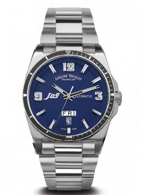 poza ceas Armand Nicolet J09 Steel Blue 5