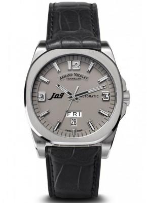 poza ceas Armand Nicolet J09 Steel Grey 3
