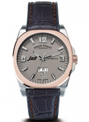 poza Armand Nicolet J09 Steel Rose Grey