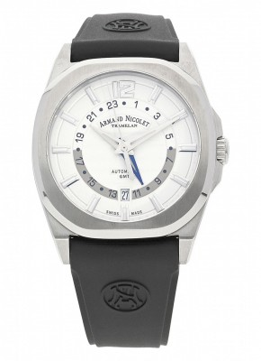poza Armand Nicolet J092 GMT Automatic A653AAAAGGG4710N