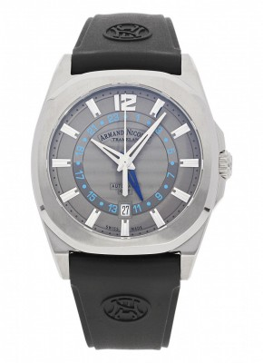 poza Armand Nicolet J092 GMT Automatic A653AAAGRGG4710N