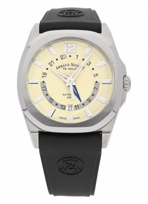 poza Armand Nicolet J092 GMT Automatic A653AAAIVGG4710N