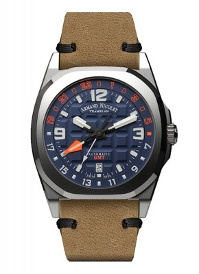 poza Armand Nicolet JH9 GMT Date Automatic A663HAABOPK4140CA