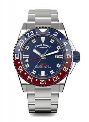 poza Armand Nicolet JS9 GMT Date Automatic A486BGUBUMA4480AA
