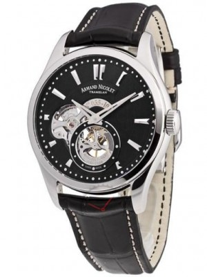 poza ceas Armand Nicolet L06 Small Second Steel Black