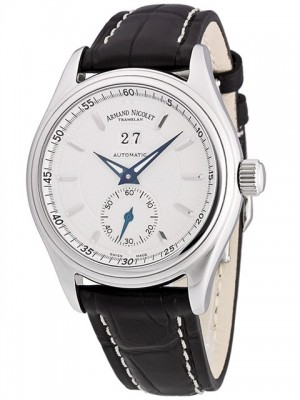 poza Armand Nicolet M02 Big Date Automatic Steel White 3