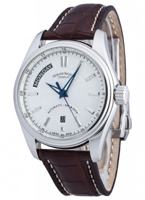 poza Armand Nicolet M02 Day Date Steel 2