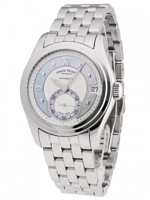 poza Armand Nicolet M03 Small Seconds Date Steel Blue