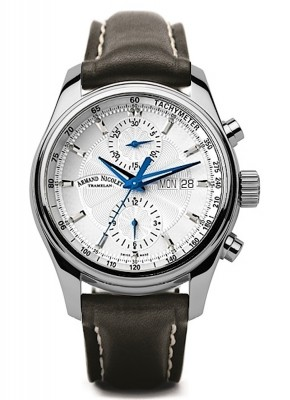 poza Armand Nicolet MH2 Chronograph Date Wochentag Automatic A647AAGP140NR2