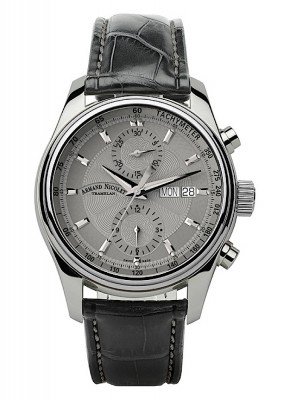 poza Armand Nicolet MH2 Chronograph Date Wochentag Automatic A647AGRP840GR2