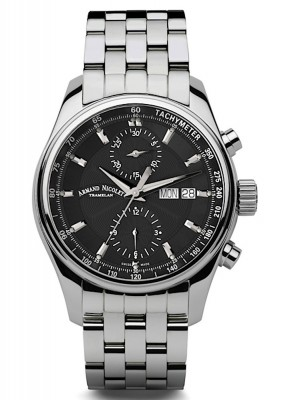 poza Armand Nicolet MH2 Chronograph Date Wochentag Automatic A647ANRMA2640A