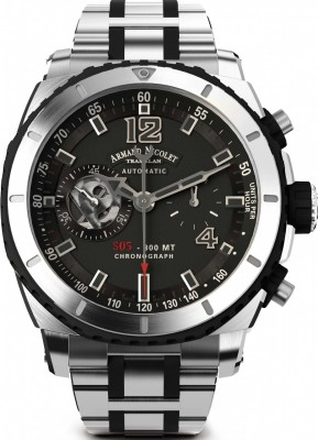 poza Armand Nicolet S05 Chronograph 300M Automatic A714AGNGRMA4710GN