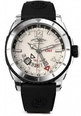 poza Armand Nicolet S05 GMT 300M Automatic A713AGNAGGG4710N