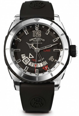 poza Armand Nicolet S05 GMT 300M Automatic A713AGNGRGG4710N