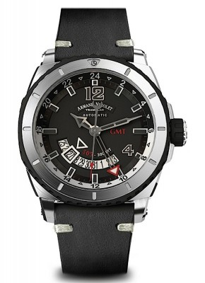 poza Armand Nicolet S05 GMT 300M Automatic A713AGNGRPK4140NR