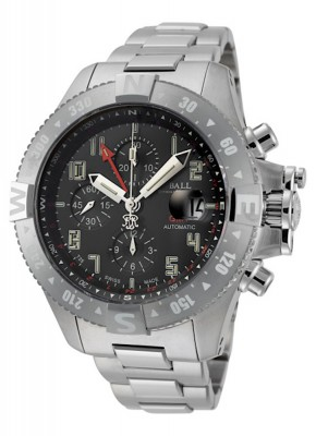 poza Ball Engineer Hydrocarbon Spacemaster Chronograph GMT II Automatic DC3036CSAJBK