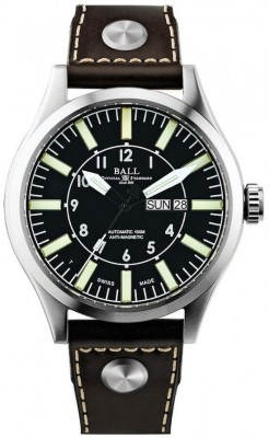 poza Ball Engineer Master II Aviator NM1080CL3BK