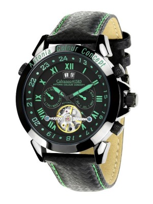 poza ceas Calvaneo 1583 Astonia Color Concept Green