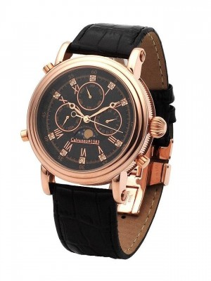 poza ceas Calvaneo 1583 Estemia Diamond Rose Gold