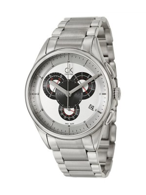 poza Calvin Klein Basic Chrono Steel Black 3