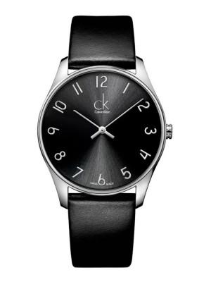 poza ceas Calvin Klein Classic Steel Black 2