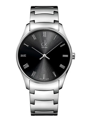poza ceas Calvin Klein Classic Steel Black 4