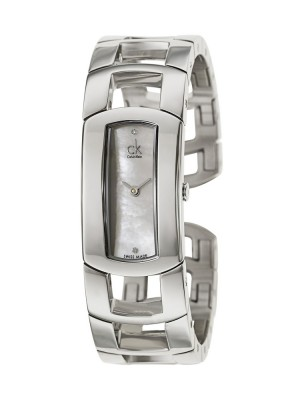 poza Calvin Klein Dress Lady Steel Silver