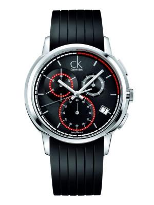poza ceas Calvin Klein Drive Chrono Steel Black 2