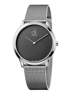 poza ceas Calvin Klein Minimal Gent Steel Grey