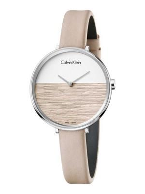 poza ceas Calvin Klein Rise Lady Steel Cream