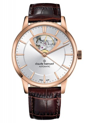 poza Claude Bernard Classic Open Heart Automatic 85017 37R AIR3