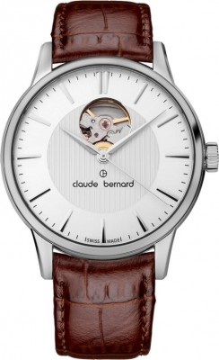 poza ceas Claude Bernard Sophisticated Classics Automatic Open Heart 85017 3 AIN