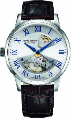 poza Claude Bernard Sophisticated Classics Automatic Open Heart 85017 3 ARBUN