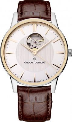 poza Claude Bernard Sophisticated Classics Automatic Open Heart 85017 357R AIR