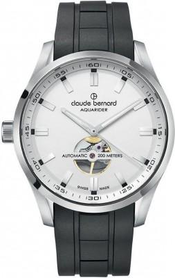 poza ceas Claude Bernard Sporting Soul Aquarider Automatic Open Heart 85026 3CA AIN