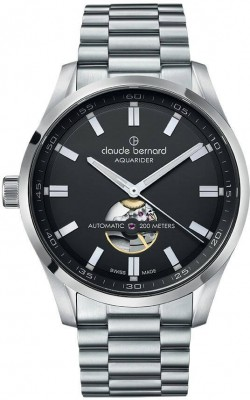 poza Claude Bernard Sporting Soul Aquarider Automatic Open Heart 85026 3M NV