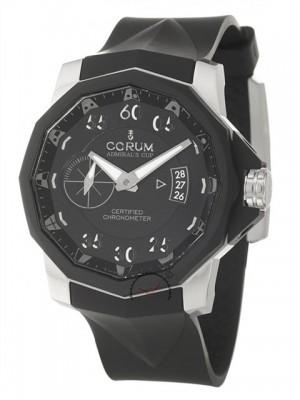 poza ceas Corum Admirals Cup Challenger Black