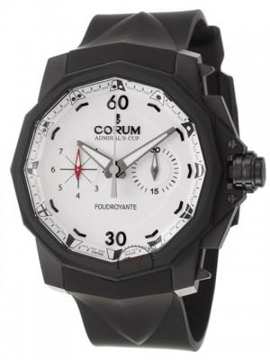 poza ceas Corum Admirals Cup Foudroyante Black White