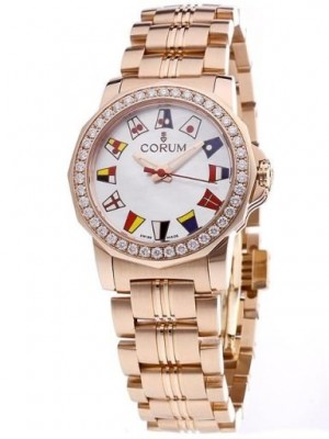 poza Corum Admirals Cup Gold White 2