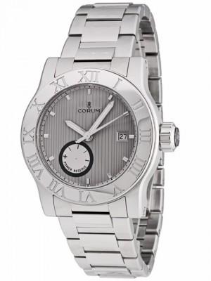 poza ceas Corum Romulus Steel Grey Bracelet