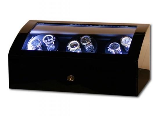 poza ceas Cutie de intoarcere Swing Black LED 6 7