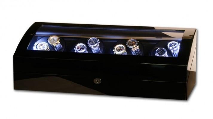 poza ceas Cutie de intoarcere Swing Black LED 8 9