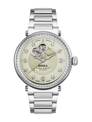 poza Doxa Calex Lady Diamond Steel 2