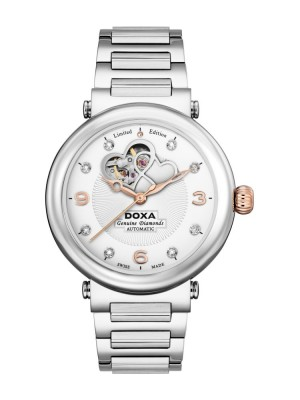 poza Doxa Calex Lady Diamond Steel 3