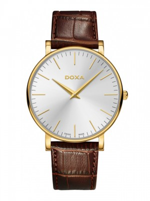 poza ceas Doxa D-Light Gold Silver