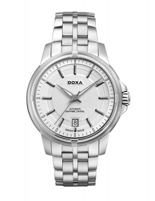 poza Doxa Executive Steel Silver