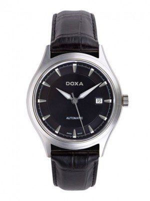 poza ceas Doxa New Tradition Steel Black