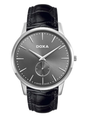 poza Doxa Slim Line Steel Grey 2